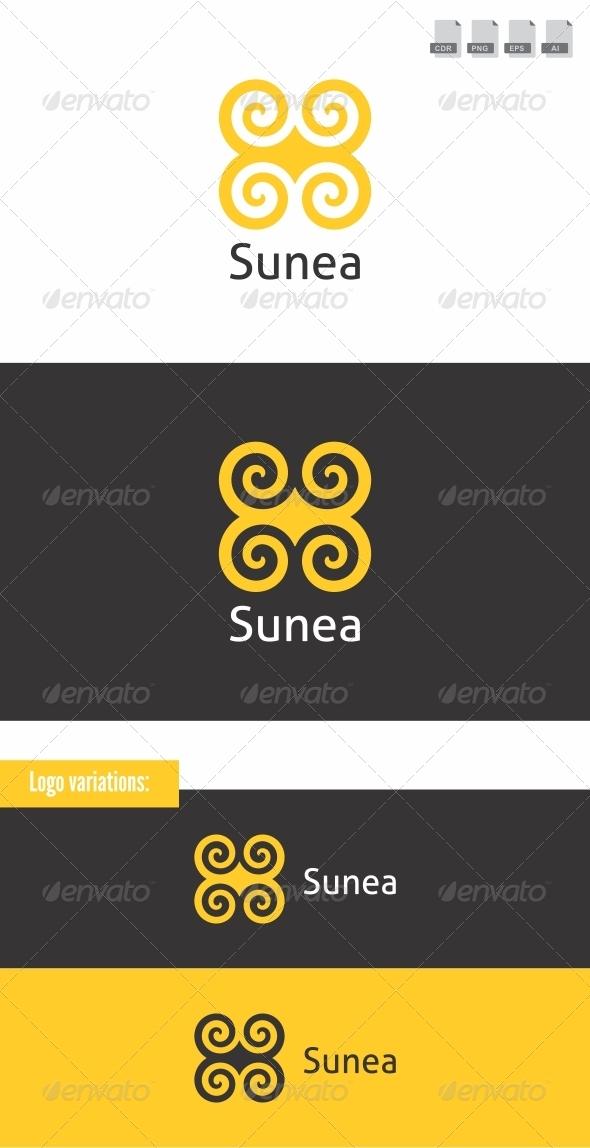 Sunea - Crests Logo Templates