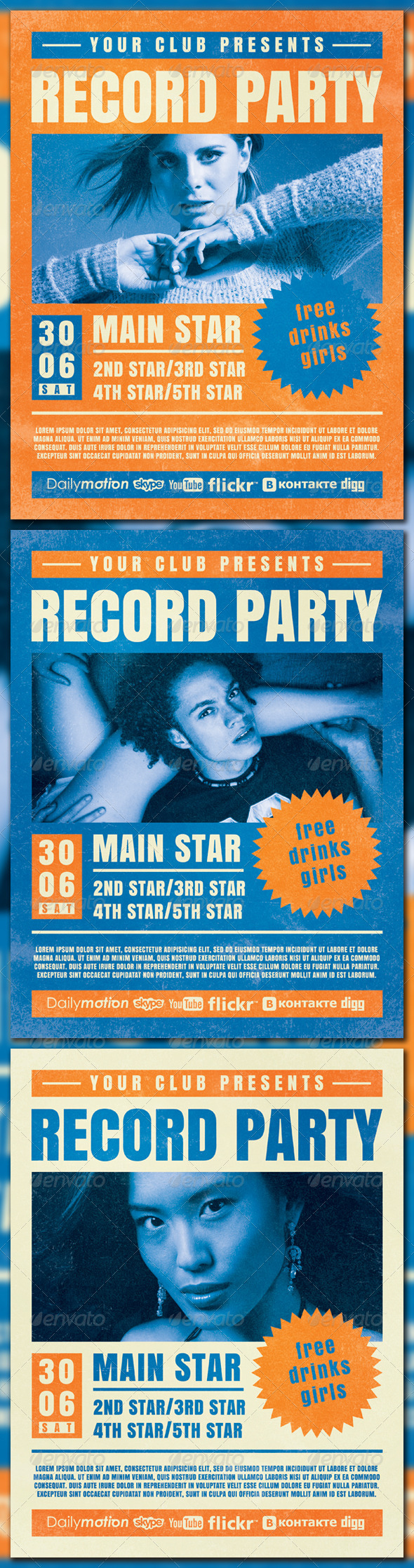 Record Party - Clubs & Parties Events