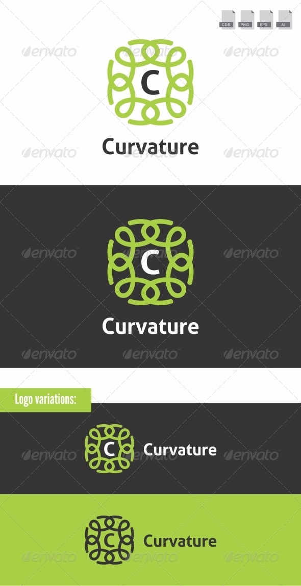 Curvature - Crests Logo Templates
