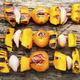 Pumpkin vegetable kebab. - PhotoDune Item for Sale