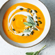 Carrot and ginger cream soup - PhotoDune Item for Sale