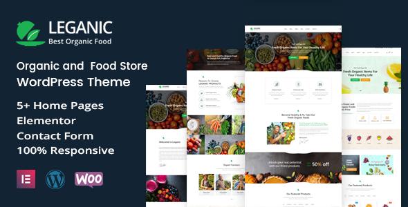 Leganic - Organic and Food Store WordPress Theme