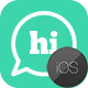 Hi | iOS Private Chat Messaging Application [XServer]