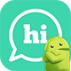 Hi | Android Private Chat Messaging Application [XServer]