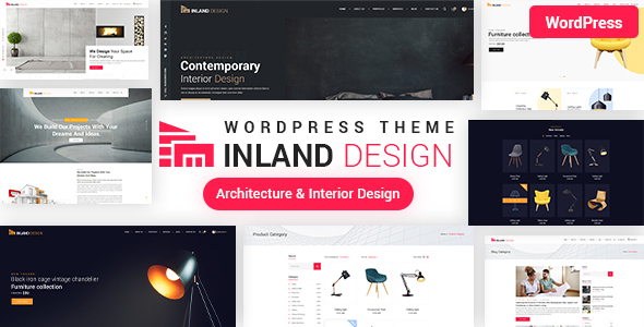 Architecture & Interior Design WordPress Theme