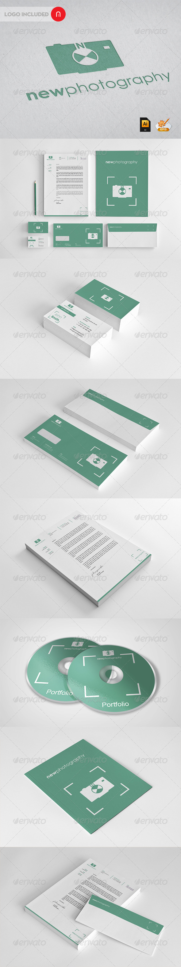 Stationary & Identity - Newphotography - Stationery Print Templates