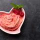 Homemade raspberry ice cream and fresh berries - PhotoDune Item for Sale