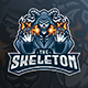 The Skeleton Esport Logo