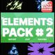 Energy Elements Pack 02 | Motion Graphics - VideoHive Item for Sale