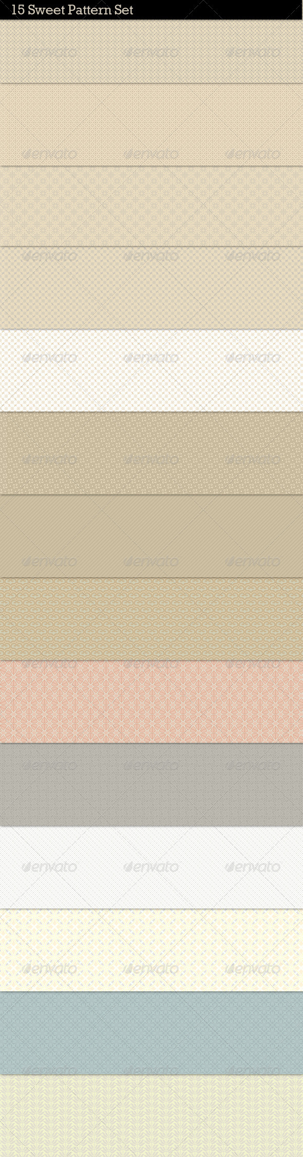 15 Clean Sweet Web Patterns - Patterns Decorative