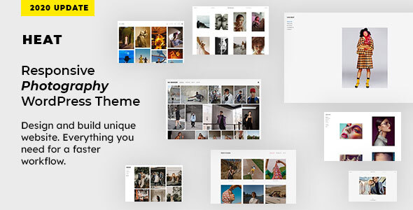 Download Heat – Responsive Photography WordPress Theme Nulled