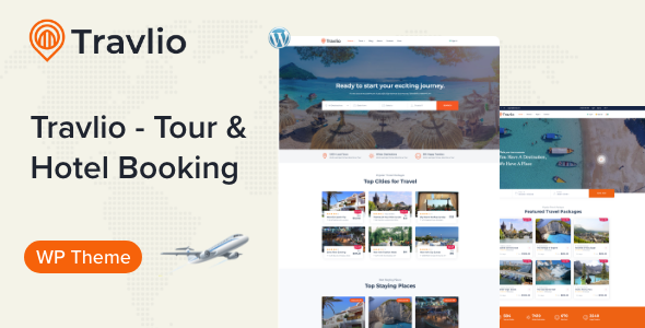 Travlio - Travel Booking WordPress Theme