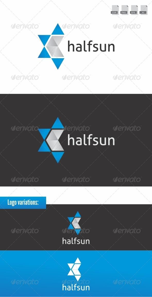 Halfsun - Abstract Logo Templates