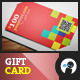 Pixel - Minimal Store Gift Card - GraphicRiver Item for Sale