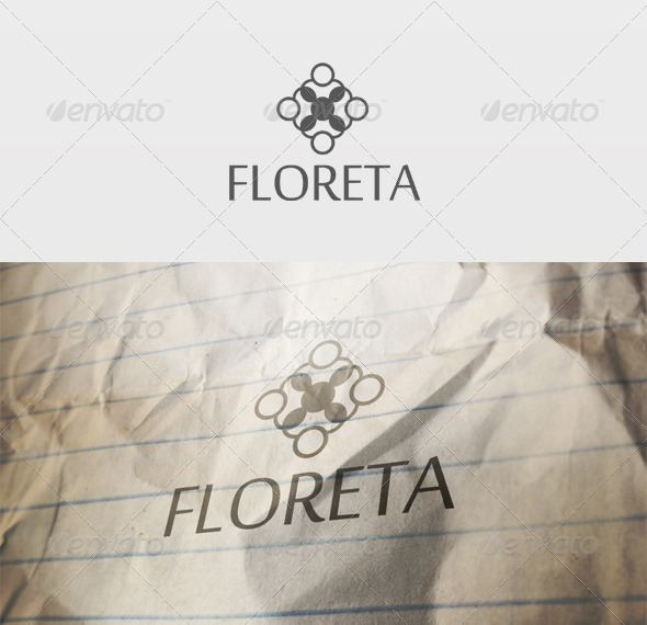 Floreta Logo - Vector Abstract