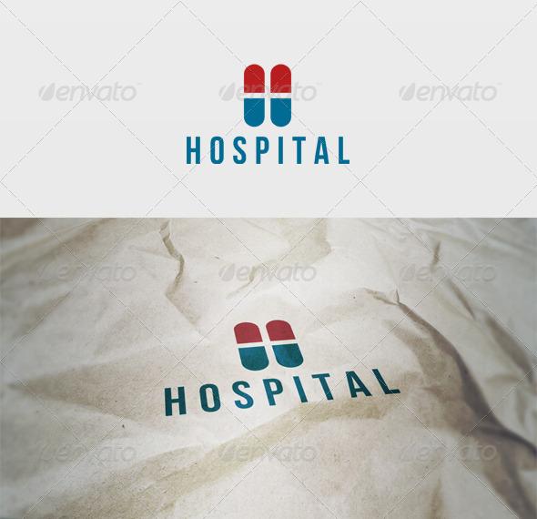Hospital Logo - Letters Logo Templates