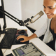 Talk Show at Online Radio Station - PhotoDune Item for Sale