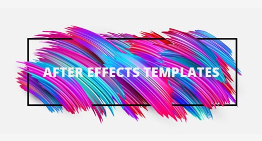 Adobe After Effects Templates Customization Service