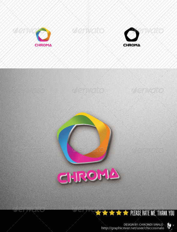 Chroma Logo Template - Abstract Logo Templates