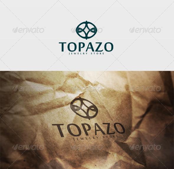 Topazo Logo - Vector Abstract
