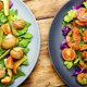 Salad with vegetables and snails - PhotoDune Item for Sale