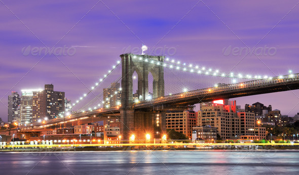 Brooklyn Bridge - Stock Photo - Images