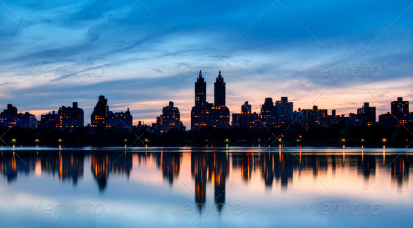 Central Park West - Stock Photo - Images