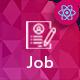 JBDesks - React Job Board and Dashboard Template