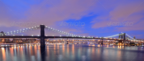 Brooklyn Skyline - Stock Photo - Images