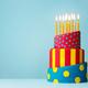 Colorful birthday cake - PhotoDune Item for Sale