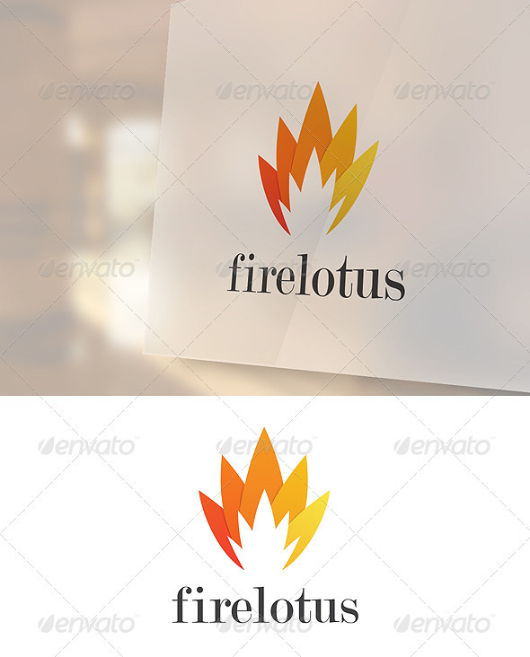 Firelotus Logo Template - Abstract Logo Templates