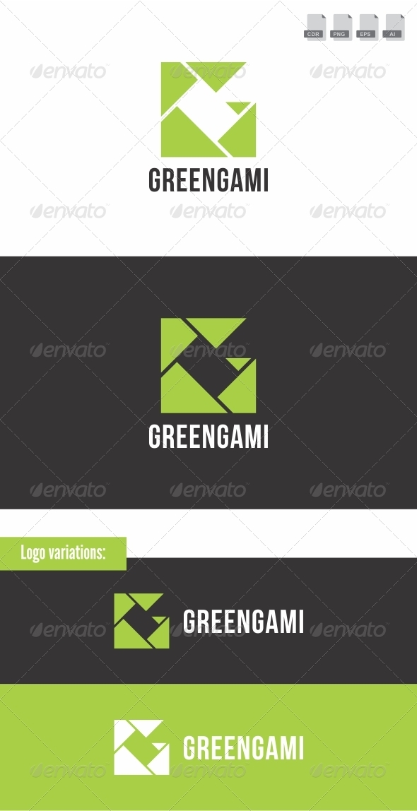 Greengami - Letters Logo Templates