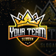 Esport Gold Crown logo for Team