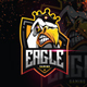Awesome Eagle Esport Logo Gaming