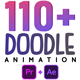110 Animated Doodles Pack - VideoHive Item for Sale