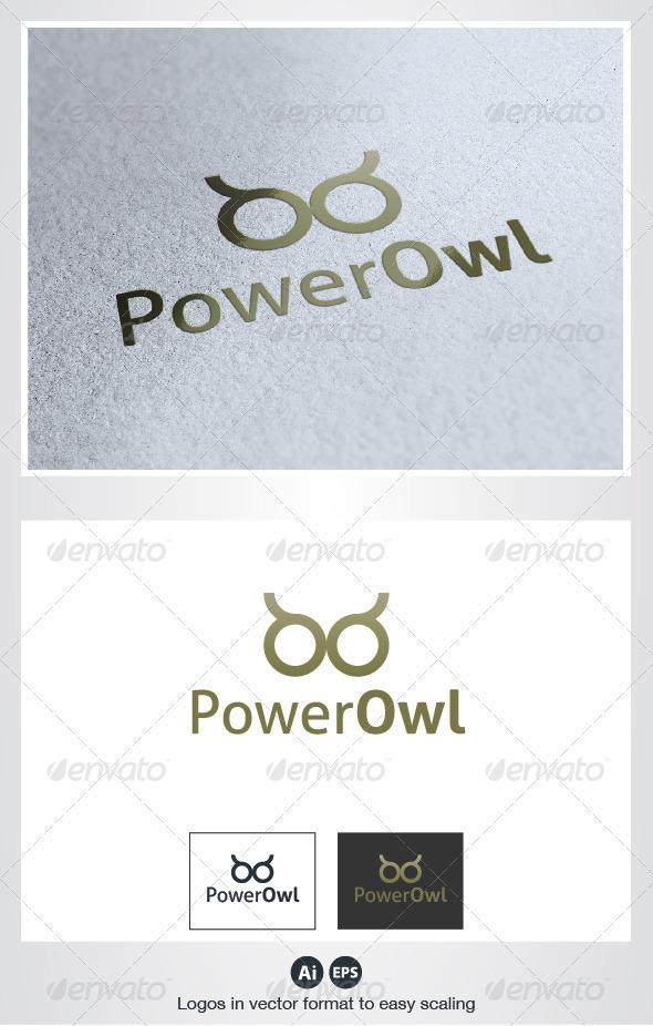 Power Owl Logo - Animals Logo Templates