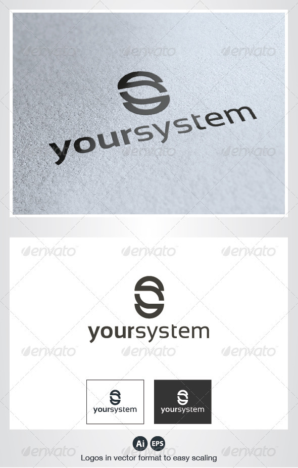 Your System Letter Logo - Letters Logo Templates