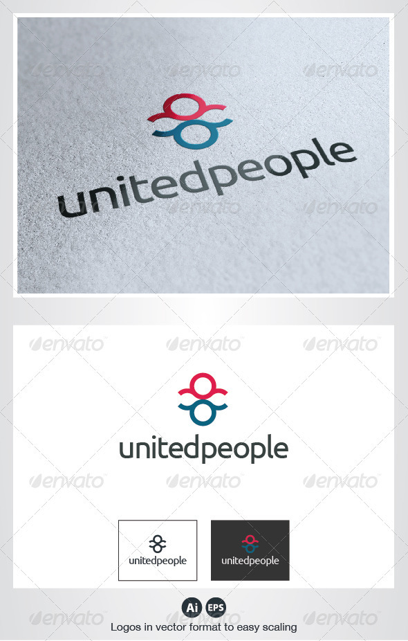 United People Logo - Humans Logo Templates