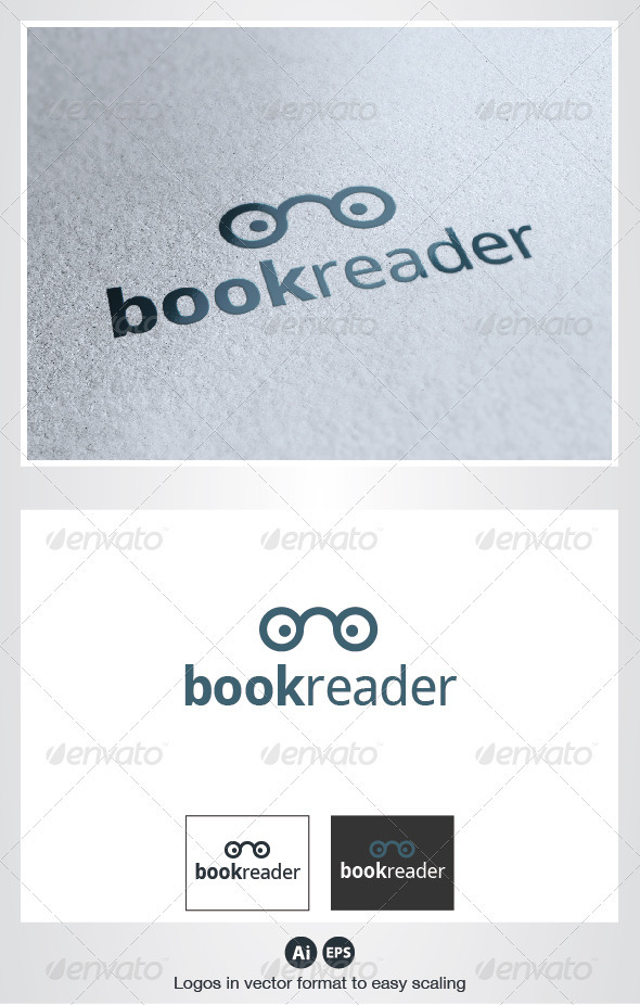 Book Reader Logo - Symbols Logo Templates