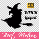 Witch Silhouette - VideoHive Item for Sale