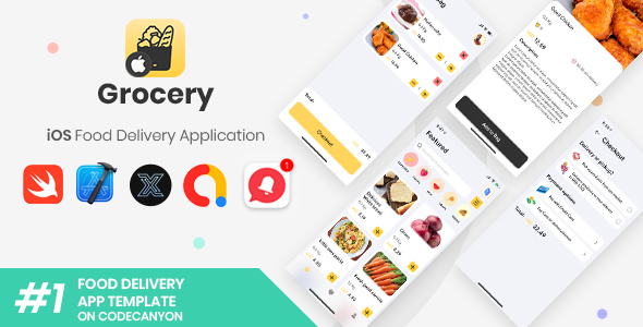 Grocery | iOS Single Grocery Store Application [XServer]