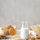 Oat milk. Delicious and healthy vegetarian alternative milk drink - PhotoDune Item for Sale