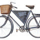 Isolated Vintage Delivery Bike - PhotoDune Item for Sale