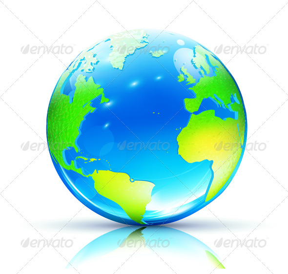 Earth Map Globe - Nature Conceptual