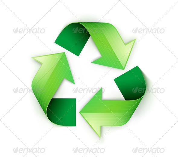 Recycling symbol - Conceptual Vectors