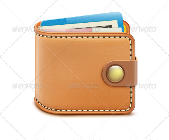 Wallet  - Objects Vectors