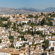 Albayzin district of Granada, Spain, from the towers of the Alhambra - PhotoDune Item for Sale