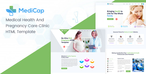 Medicap - Medical Health & Pregnancy Care Clinic HTML Template