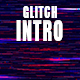 Modern Glitch Logo Intro Pack