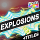 Explosion Elements And Titles | FCPX - VideoHive Item for Sale